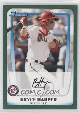 2011 Bowman Prospects Retail Green #BP1 - Bryce Harper /450
