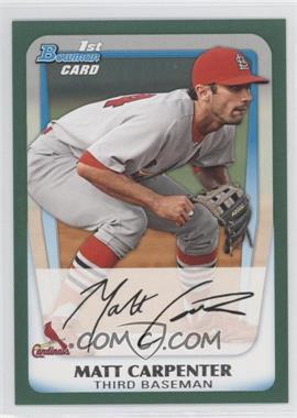 2011 Bowman Prospects Retail Green #BP66 - Matt Carpenter /450