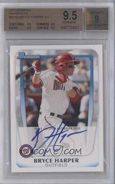 2011 Bowman Prospects #BP1 - Bryce Harper [BGS9.5]