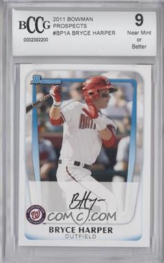 2011 Bowman Prospects #BP1.1 - Bryce Harper (Base) [ENCASED]