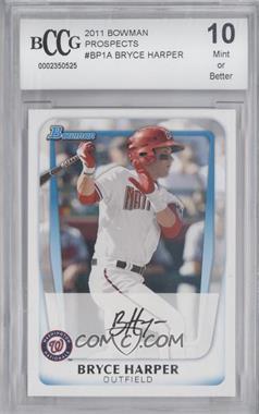 2011 Bowman Prospects #BP1.1 - Bryce Harper (Base) [ENCASED]