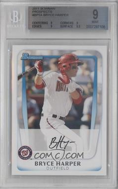 2011 Bowman Prospects #BP1.1 - Bryce Harper (Base) [BGS 9]