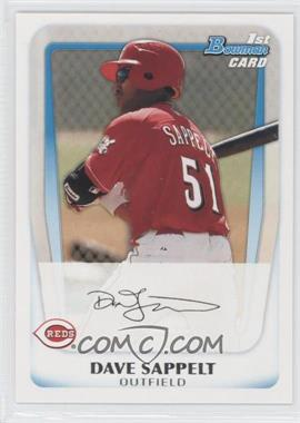 2011 Bowman Prospects #BP37 - Dave Sappelt