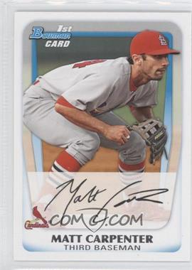 2011 Bowman Prospects #BP66 - Matt Carpenter