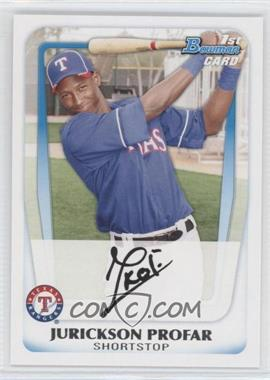 2011 Bowman Prospects #BP82 - Jurickson Profar