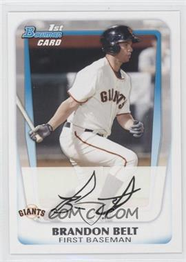2011 Bowman Prospects #BP93 - Brandon Belt