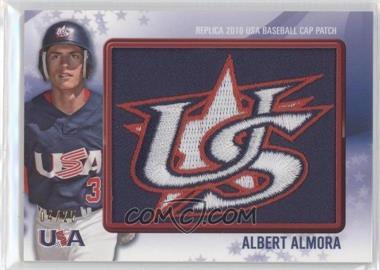 2011 Bowman Replica 2010 USA Baseball Cap Patch #USA-45 - Al Alburquerque /25