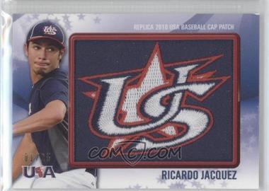 2011 Bowman Replica 2010 USA Baseball Cap Patch #USA-5 - Rick James /25
