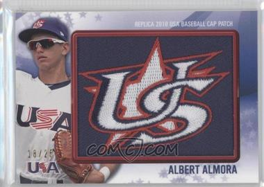 2011 Bowman Replica 2010 USA Baseball Patch #USA-1 - Albert Almora /25