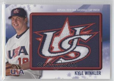 2011 Bowman Replica 2010 USA Baseball Patch #USA-43 - Kyle Winkler /25