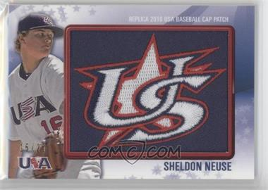 2011 Bowman Replica 2010 USA Baseball Patch #USA-57 - Sheldon Neuse /25