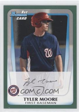 2011 Bowman Retail Prospects Green #BP5 - Tyler Moore /450