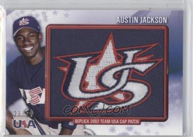 2011 Bowman Retro Patch Relics #RPR-13 - Austin Jackson /25