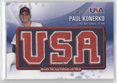2011 Bowman Retro Patch Relics #RPR-16 - Paul Konerko /25