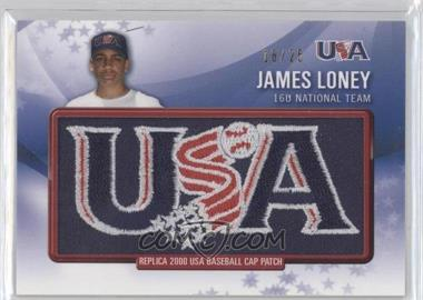 2011 Bowman Retro Patch Relics #RPR-17 - James Loney /25