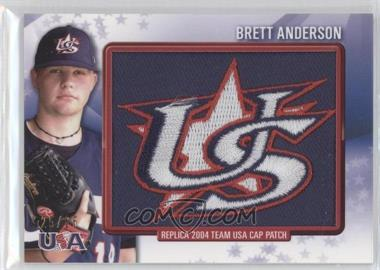 2011 Bowman Retro Patch Relics #RPR-2 - Brett Anderson /25