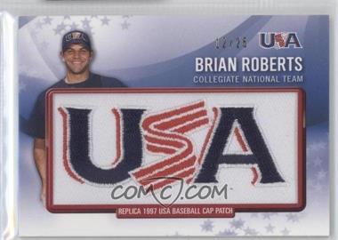 2011 Bowman Retro Patch Relics #RPR-24 - Brian Roberts /25