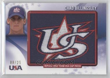 2011 Bowman Retro Patch Relics #RPR-3 - Chad Billingsley /25
