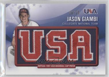 2011 Bowman Retro Patch Relics #RPR-7 - Jason Giambi /25