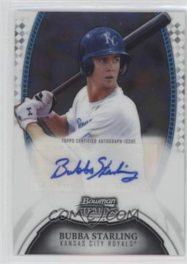 2011 Bowman Sterling - MLB Future Stars Autographs #BSP-BST - Bubba Starling