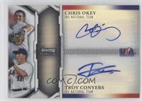 Chris Okey, Troy Conyers /99