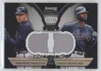 Freddie Freeman, Jason Heyward /25