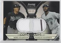 Mike Stanton, Hanley Ramirez /25