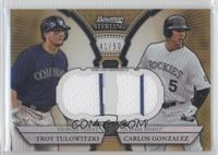 Troy Tulowitzki, Carlos Gonzalez /50
