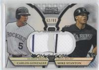Carlos Gonzalez, Mike Stanton /99