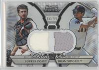 Buster Posey, Brandon Belt /99