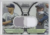 David Price, Felix Hernandez /99