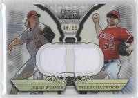 Jered Weaver, Tyler Chatwood /99