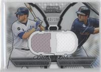 Mike Moustakas, Lonnie Chisenhall /199