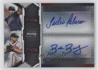 Brandon Beachy, Julio Teheran /299
