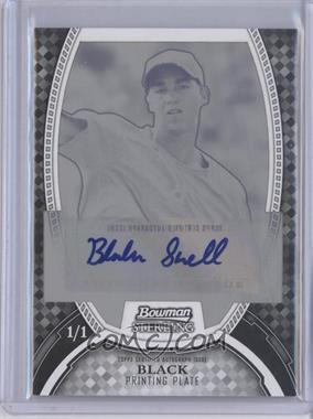2011 Bowman Sterling MLB Future Stars Autographs Printing Plate Black #BSP-BS - Blake Snell /1