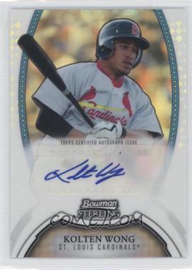 2011 Bowman Sterling MLB Future Stars Autographs Refractor #BSP-KW - Kolten Wong /199