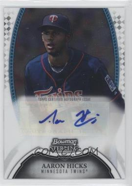 2011 Bowman Sterling MLB Future Stars Autographs #BSP-AH - Aaron Hicks