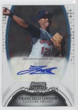 2011 Bowman Sterling MLB Future Stars Autographs #BSP-FL - Francisco Lindor