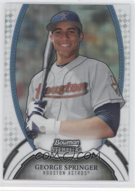 2011 Bowman Sterling MLB Future Stars Refractors #23 - George Springer /199