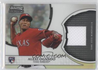 2011 Bowman Sterling Rookie Refractor Relics #RRR-AO - Alexi Ogando