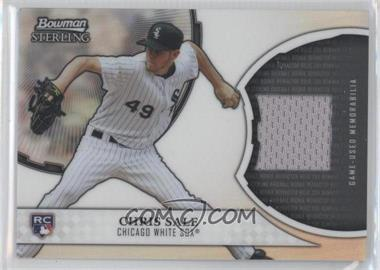 2011 Bowman Sterling Rookie Refractor Relics #RRR-CS - Chris Sale