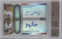 Carson Kelly, Joey Gallo /50 [BGS 9.5]