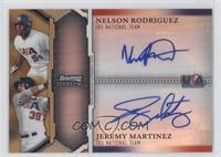 Nelson Rodriguez, Jeremy Martinez /50