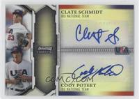 Colin Porter, Connor Powers, Clay Schrader, Clate Schmidt /99