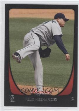 2011 Bowman #137 - Felix Hernandez
