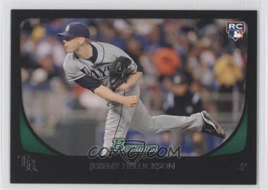 2011 Bowman #199 - Jeremy Hellickson