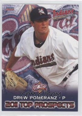 2011 Choice Carolina League Top Prospects - [Base] #01 - Drew Pomeranz
