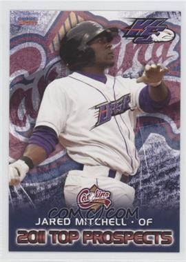 2011 Choice Carolina League Top Prospects - [Base] #06 - Jared Mitchell