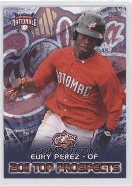 2011 Choice Carolina League Top Prospects - [Base] #08 - Eury Perez