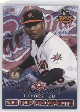 2011 Choice Carolina League Top Prospects - [Base] #09 - L.J. Hoes